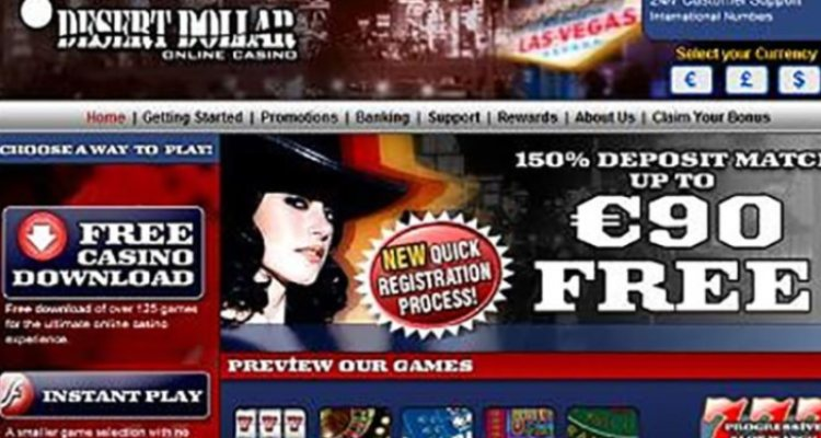 Desert Dollar Casino Review & Bonuses