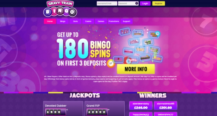 Gravy Train From Online Casino Sites in the UK